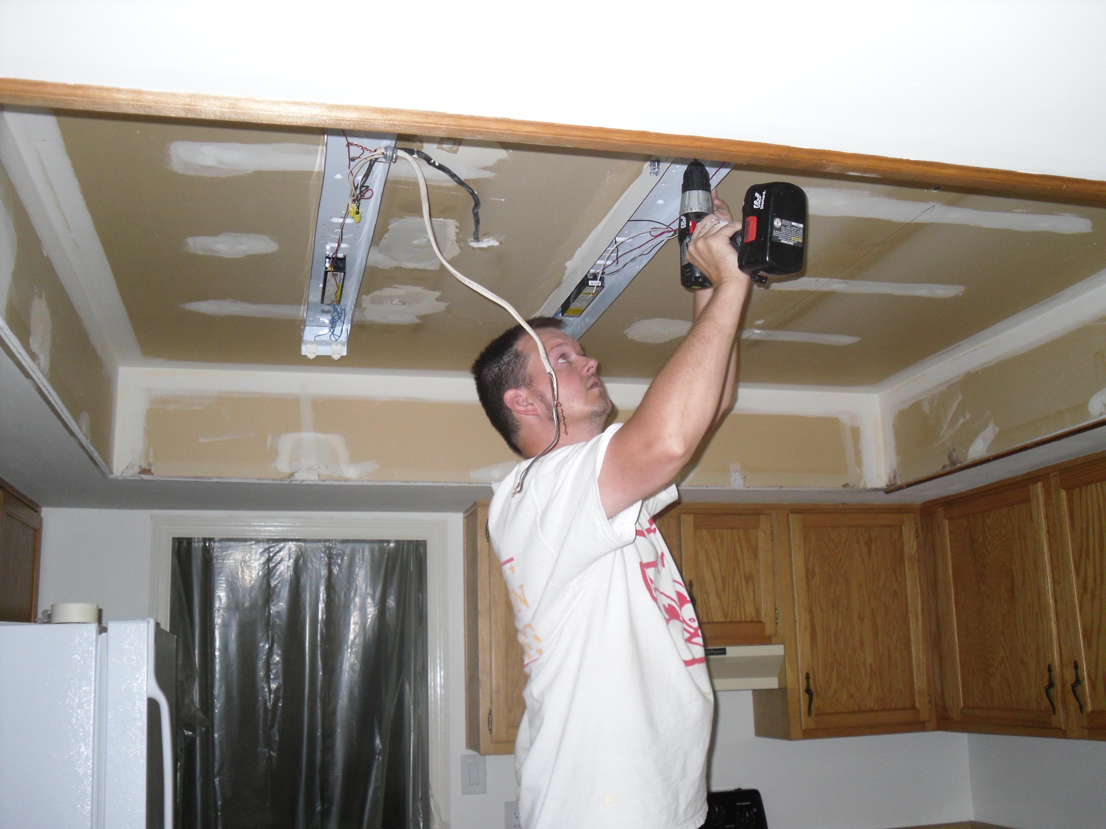 Kitchen Drop Ceiling Lighting July 2011 Designnarrative